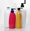 Shampoo, conditioner, shower gel